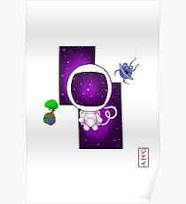 Chibi Astronaut Poster