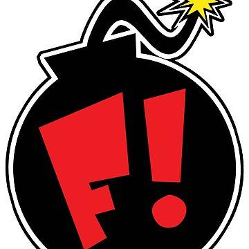 F! Bomb Logo by Frankenstylin