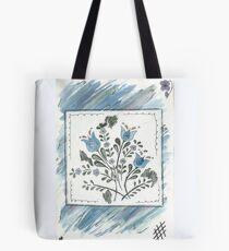 Watercolour Flower Tote Bag