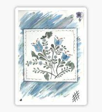 Watercolour Flower Sticker