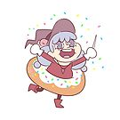 Donut Witch by GrittySugar
