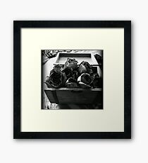 """Happier times"" Framed Print"