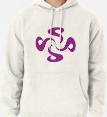 SheeArtworks Spiral Purple - Shee Vector Shape Pullover Hoodie