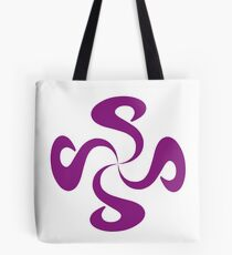 SheeArtworks Spiral Purple - Shee Vector Shape Tote Bag