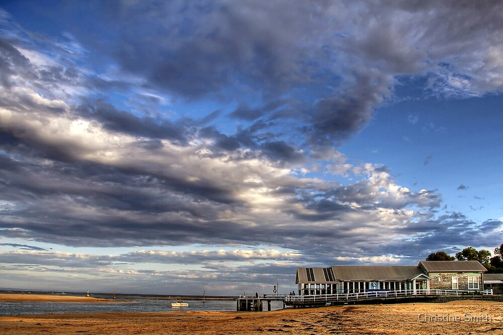 The Mouth of the River, Barwon Heads by Christine Smith