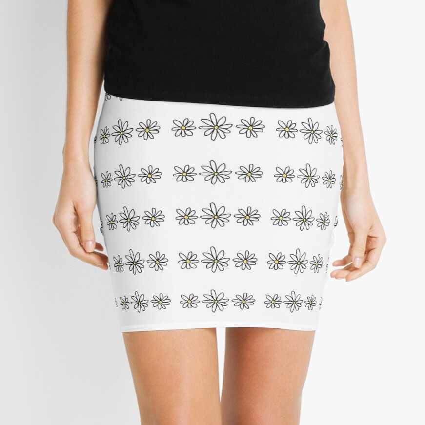 Flower Tumblr Mini Skirt