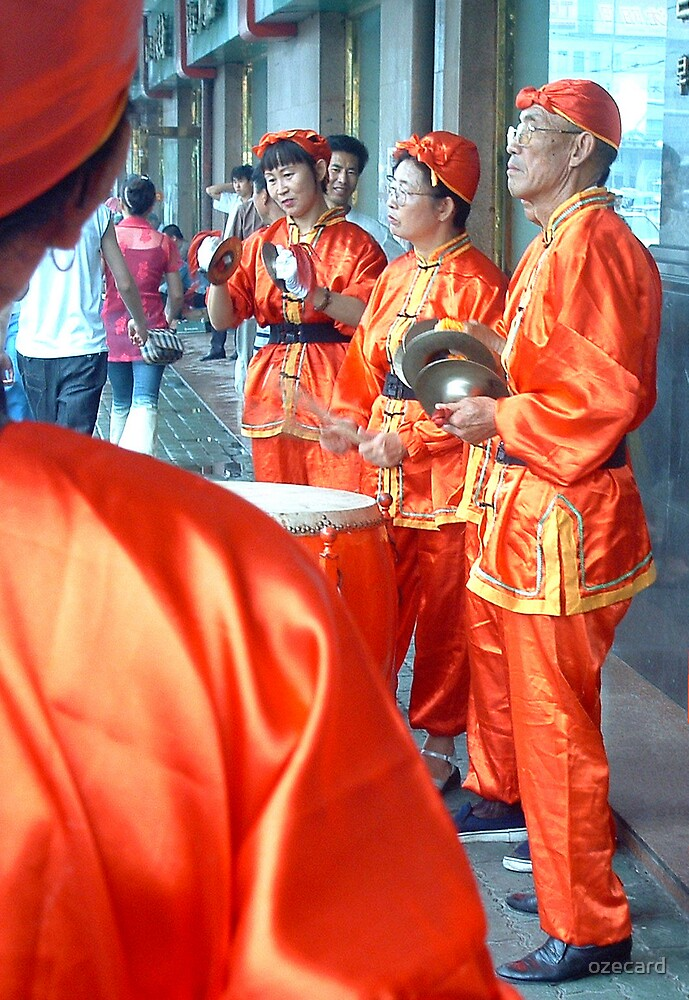 Street Band by ozecard