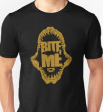 Bite Me Shark Slim Fit T-Shirt