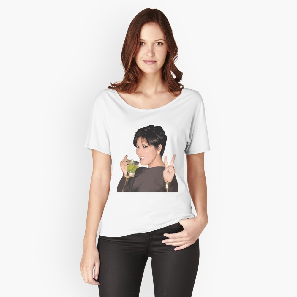 Kris Jenner Relaxed Fit T-Shirt
