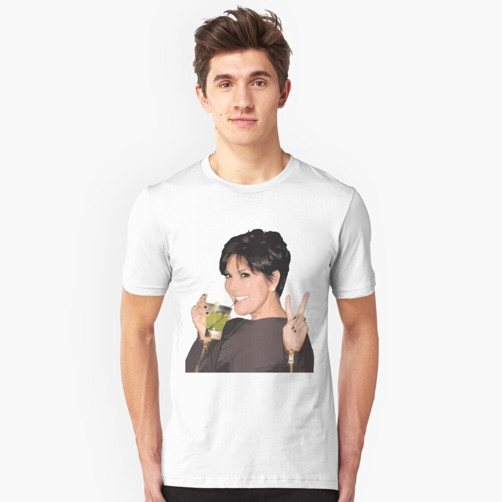 Kris Jenner Slim Fit T-Shirt