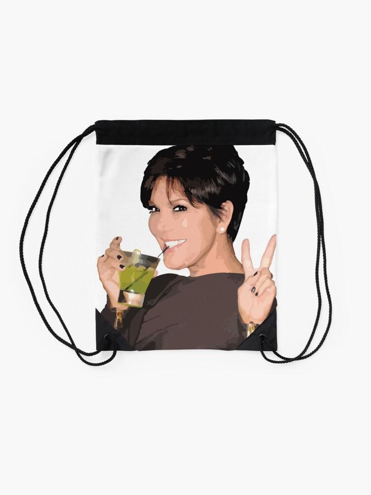 Alternate view of Kris Jenner Drawstring Bag