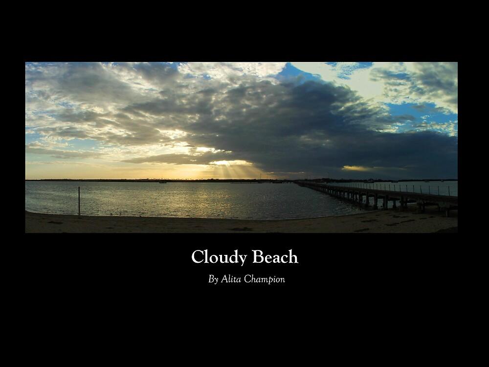 Cloudy Beach by AliLu