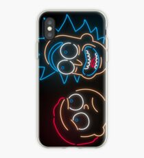 We're Neon Morty iPhone Case