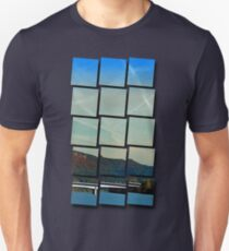 Bridge, scenery and some clouds   architectural photography T-Shirt
