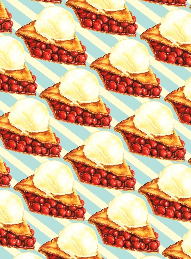 Cherry Pie Pattern by Kelly  Gilleran