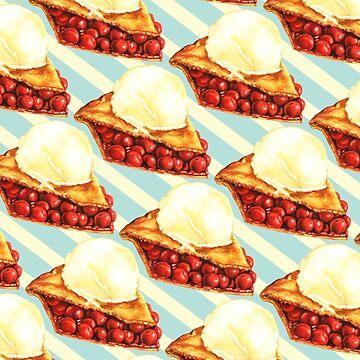 Cherry Pie Pattern by KellyGilleran