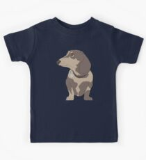 Adorable Digital Dachshund  Kids Clothes