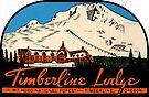 Timberline Lodge Vintage Travel Decal by hilda74
