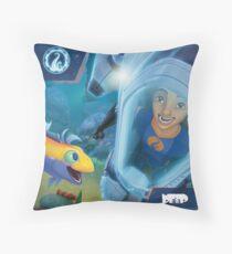 The Deep - Ant & Jeffery Throw Pillow