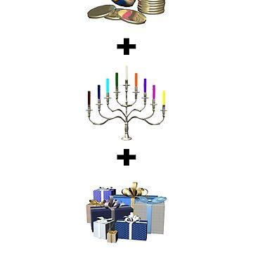 Happy Hanukkah by 2HivelysArt