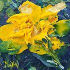 Golden (Acrylic) by Niki Hilsabeck