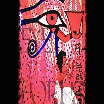 Eye of Horus by ginnyl52