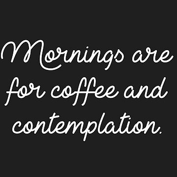 Morning Are for Coffee and Contemplation _ Hopper by nerdytalks