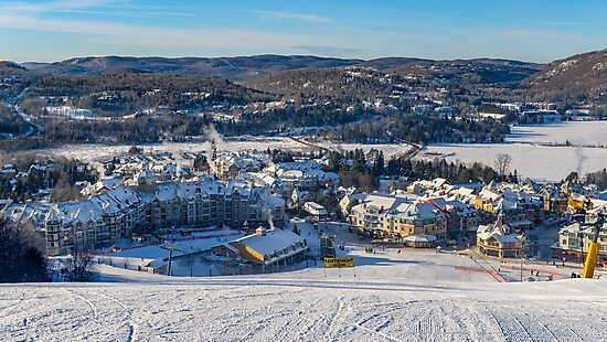 Mont Tremblant 4 by Roger  Mackertich