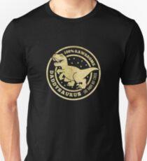 Daddysaurus Pun Funny Dinosaur Adult T-Shirt