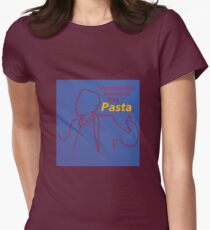 My True Passion Might Be Pasta - Master of None Women's Fitted T-Shirt