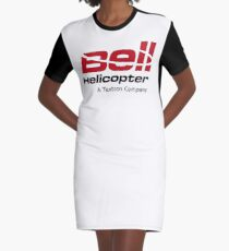 Bell Helicopter Merchendise Graphic T-Shirt Dress