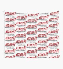 Bell Helicopter Merchendise Wall Tapestry