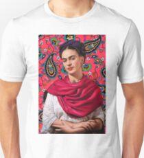 Frida Kahlo Paisley Unisex T-Shirt