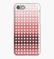 Funny pink circles iPhone Case/Skin