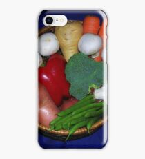 Mixed Vegetables iPhone Case/Skin