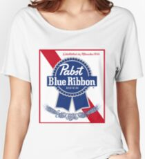 Pabst Blue Ribbon Women's Relaxed Fit T-Shirt