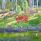 Tamborine Mountain Botanical Gardens ,Early Spring by Virginia McGowan