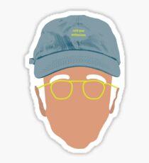Larry David - Curb Your Enthusiasm  Sticker