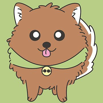 Brown Pomeranian by artbyguenther