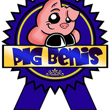 Pig bENIS Blue Ribbon Winner by Frankenstylin