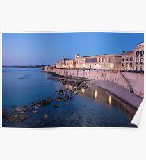 Ortigia, Sicily Poster