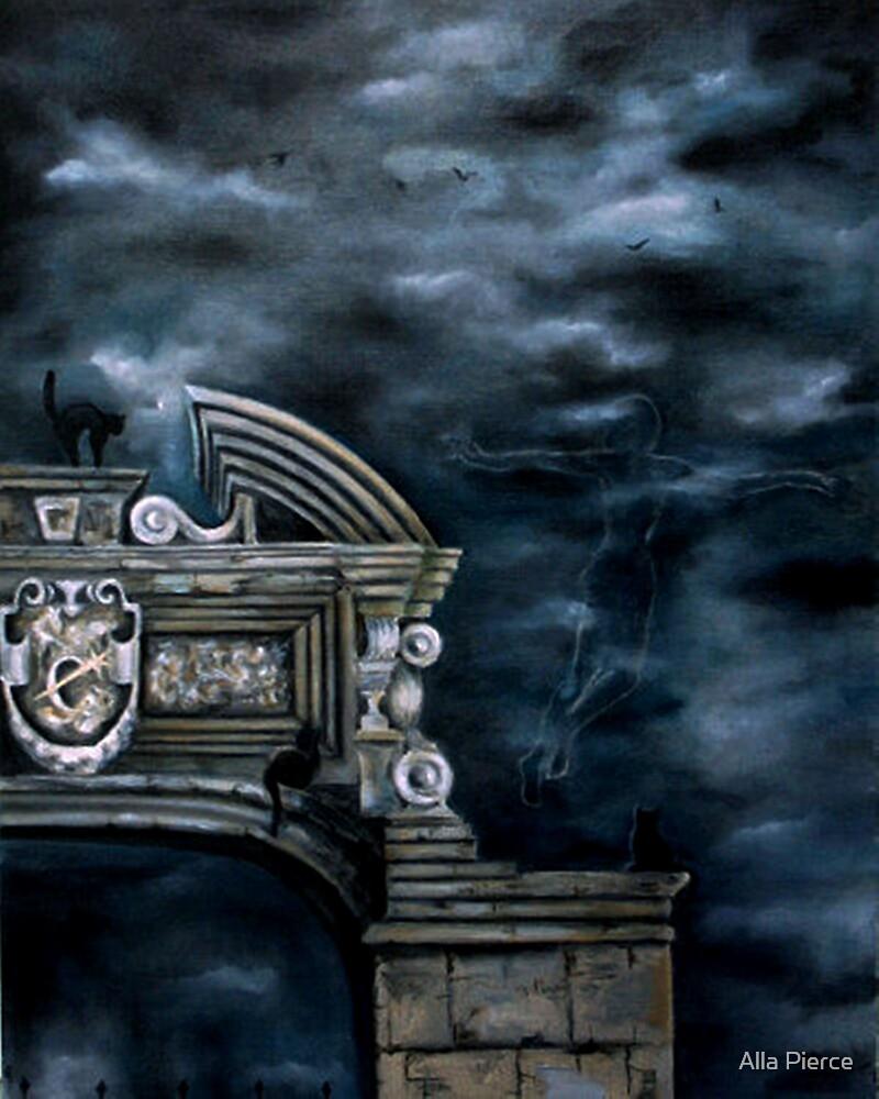 Night Flight by Alla Pierce