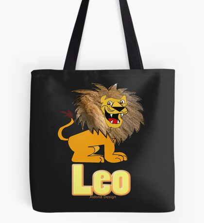 Leo Zodiac Sign  (4296 Views) Tote Bag