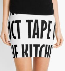 Bacon Is The Duct Tape Of The Kitchen Mini Skirt