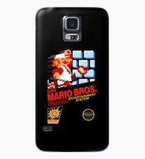Super Mario Bros Box art NES Case/Skin for Samsung Galaxy