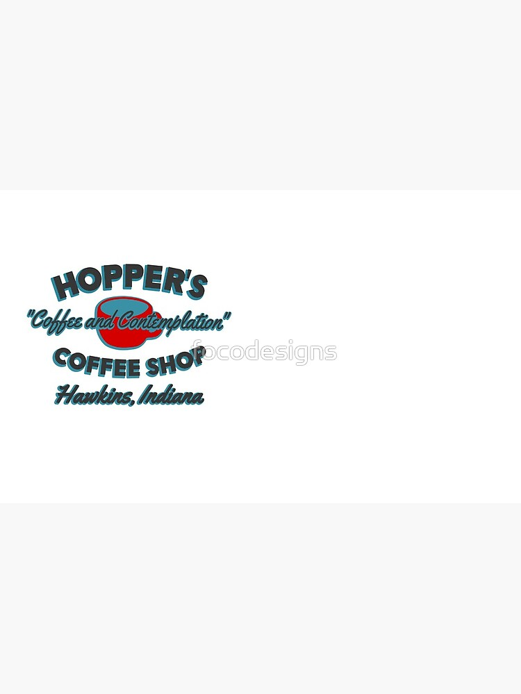 Hopper's Coffee Shop. Coffee and Contemplation by focodesigns