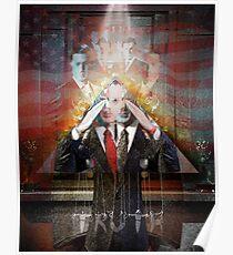 Remastered Portrait of Stephen Colbert Poster