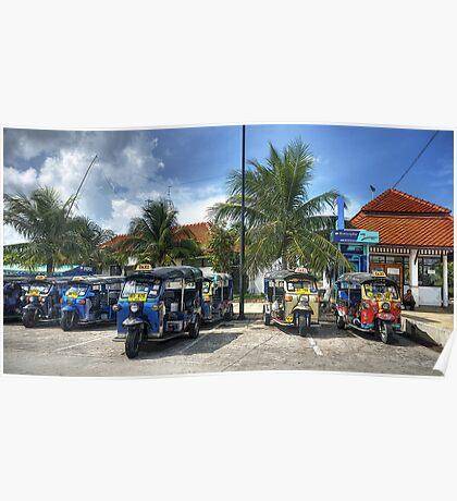 Tuktuks Poster
