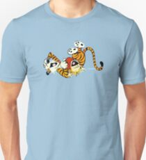 Calvin and Hobbes happy T-Shirt