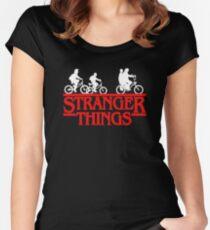 Stranger Things Bike Women's Fitted Scoop T-Shirt